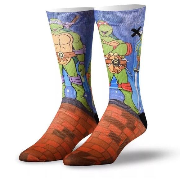 f343739c09e Teenage Mutant Ninja Turtles Socks Nickelodeon